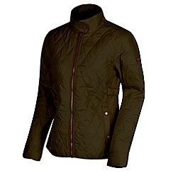Regatta - Green 'Camryn' quilted showerproof jacket