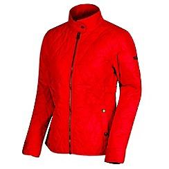 Regatta - Pink 'Camryn' quilted showerproof jacket