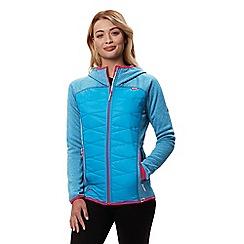 Regatta - Blue 'Andreson' hybrid hooded jacket