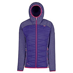 Regatta - Purple 'Andreson' hybrid jacket