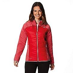 Regatta - Red 'Andreson' hybrid hooded jacket