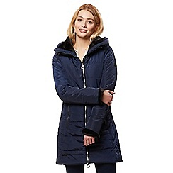 Regatta - Blue 'Pernella' quilted hooded coat