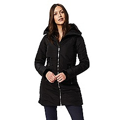 Regatta - Black 'Pernella' quilted hooded coat