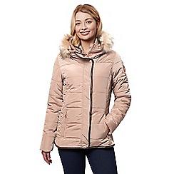 Regatta - Brown 'Winika' insulated hooded jacket
