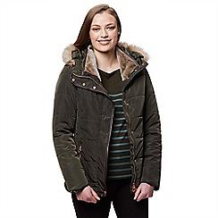 Regatta - Green 'Winika' insulated hooded jacket