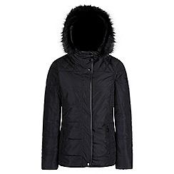Regatta - Black 'Winika' insulated hooded jacket