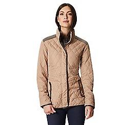 Regatta - Brown 'Coretta' quilted jacket
