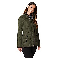 Regatta - Green 'Coretta' quilted jacket