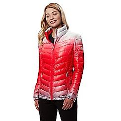 Regatta - Red 'Azuma' insulated hooded jacket