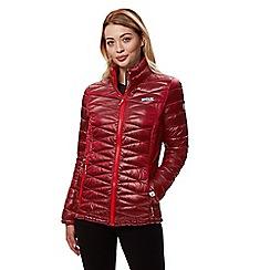 Regatta - Red 'Metallia' quilted lightweight jacket