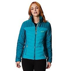 Regatta - Blue 'Icebound' quilted lightweight jacket