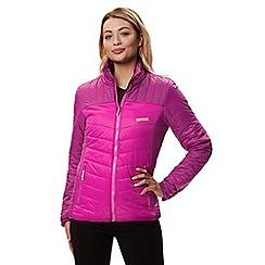 Regatta - Purple 'Icebound' quilted lightweight jacket