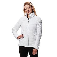Regatta - White 'Icebound' quilted lightweight jacket