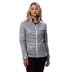 Regatta - Grey 'Icebound' quilted lightweight jacket