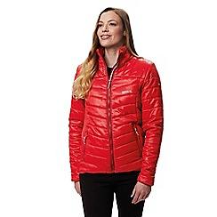 Regatta - Red 'Icebound' quilted lightweight jacket