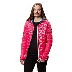 Regatta - Pink 'Kartona' hooded jacket