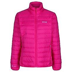 Regatta - Pink womens 'Whitehill' quilted jacket