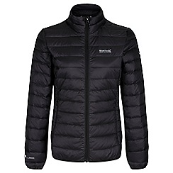 Regatta - Black womens 'Whitehill' quilted jacket