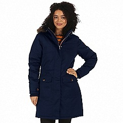 Regatta - Blue 'Saphie' waterproof parka jacket