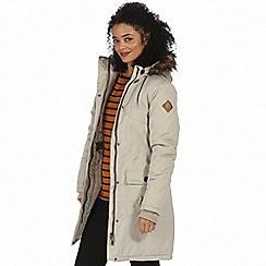 Regatta - Beige 'Saphie' waterproof parka jacket