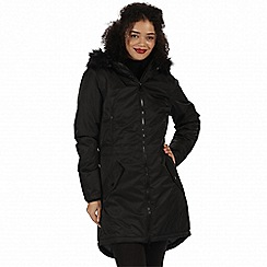 Regatta - Black 'Lucetta' waterproof insulated jacket
