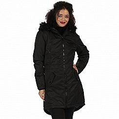 Regatta - Black 'Lucetta' waterproof insulated jacket