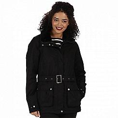 Regatta - Black 'Laurissa' waterproof insulated jacket