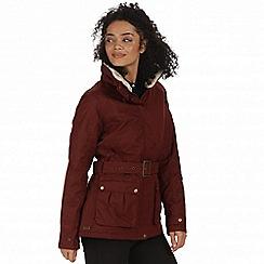 Regatta - Red 'Laurissa' waterproof insulated jacket