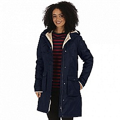 Regatta - Blue 'Roanstar' waterproof parka jacket