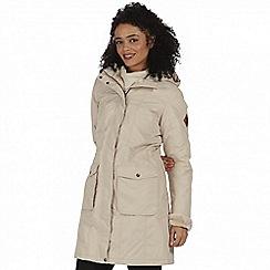 Regatta - Beige 'Roanstar' waterproof parka jacket