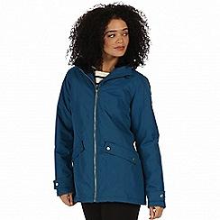 Regatta - Blue 'Brienna' waterproof insulated jacket