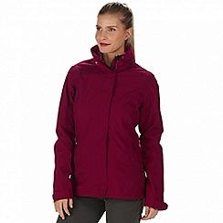 Regatta - Pink 'Calyn' 3-in-1 waterproof jacket