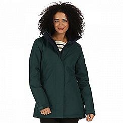 Regatta - Green 'Blanchet' waterproof insulated jacket