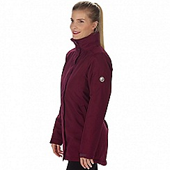 Regatta - Purple 'Blanchet' waterproof insulated jacket