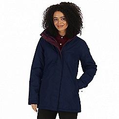 Regatta - Blue 'Blanchet' waterproof insulated jacket