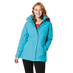 Regatta - Blue 'Blanchet' waterproof insulated jacket