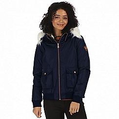 Regatta - Blue 'Berdine' waterproof bomber jacket