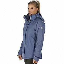 Regatta - Blue 'Highside' waterproof insulated jacket