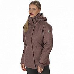 Regatta - Purple 'Highside' waterproof insulated jacket