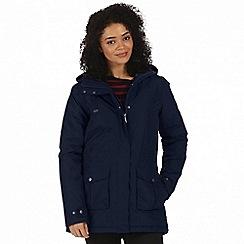 Regatta - Blue 'Beatriz' waterproof parka jacket
