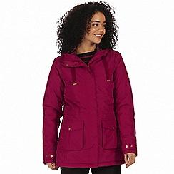 Regatta - Red 'Beatriz' waterproof parka jacket