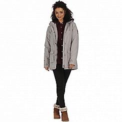Regatta - Beige 'Beatriz' waterproof parka jacket