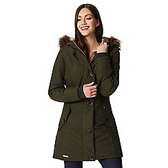 Regatta - Green 'Saffira' waterproof hooded parka