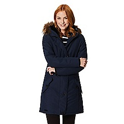 Regatta - Blue 'Saffira' waterproof hooded parka