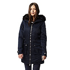 Regatta - Blue 'Lucasta' waterproof hooded parka