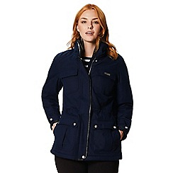 Regatta - Blue 'Laureen' waterproof hooded jacket