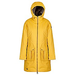 Regatta - Yellow 'Romina' waterproof hooded parka jacket