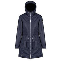Regatta - Blue 'Romina' waterproof hooded parka jacket