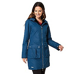 Regatta - Blue 'Romina' waterproof hooded parka
