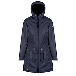 Regatta - Blue 'Romina' waterproof hooded parka jacket